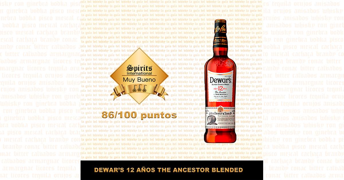 fondo Whisky dewars ancestor