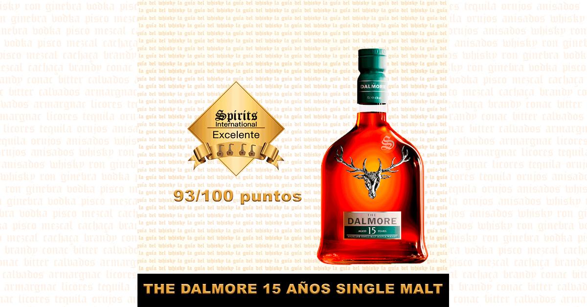 Fondo whisky Dalmore 15 YO