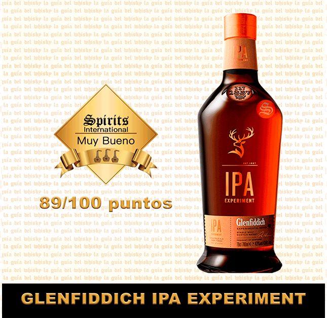 Whisky Glenfiddich ipa fondo