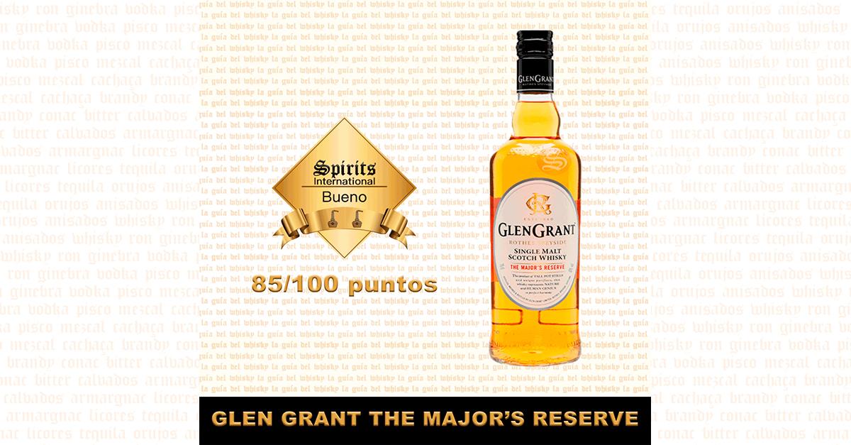 fondo Glen Grant Majors Reserve