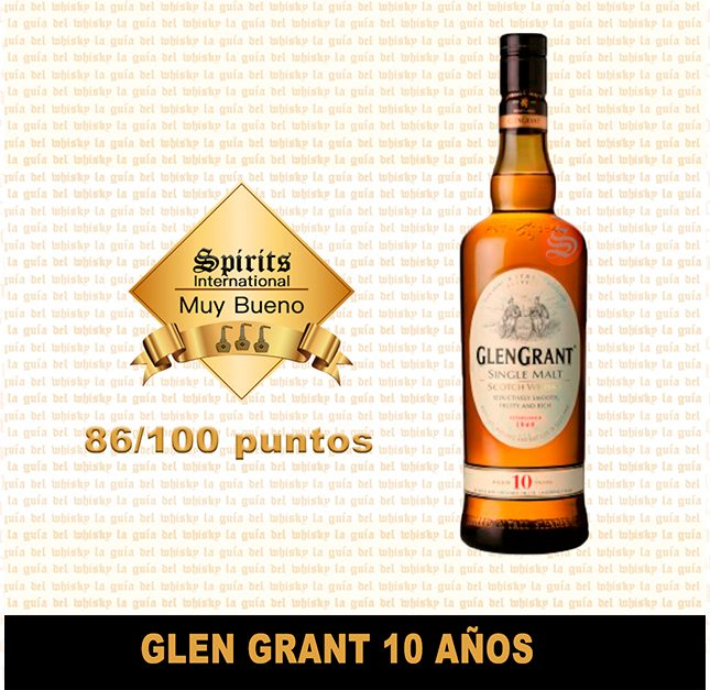 fondo whisky glen grant 10