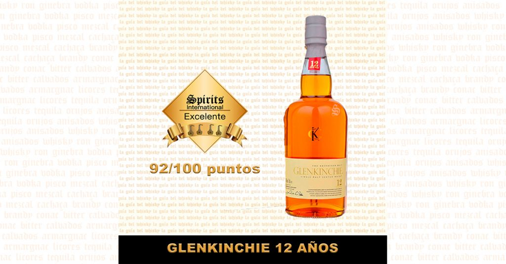 fondo whisky glenkinchie 12