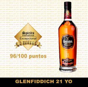 whisky Glenfiddich 21 YO