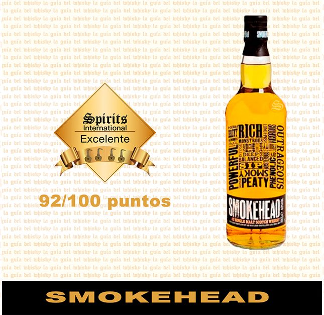Whisky Smokehead Fondo