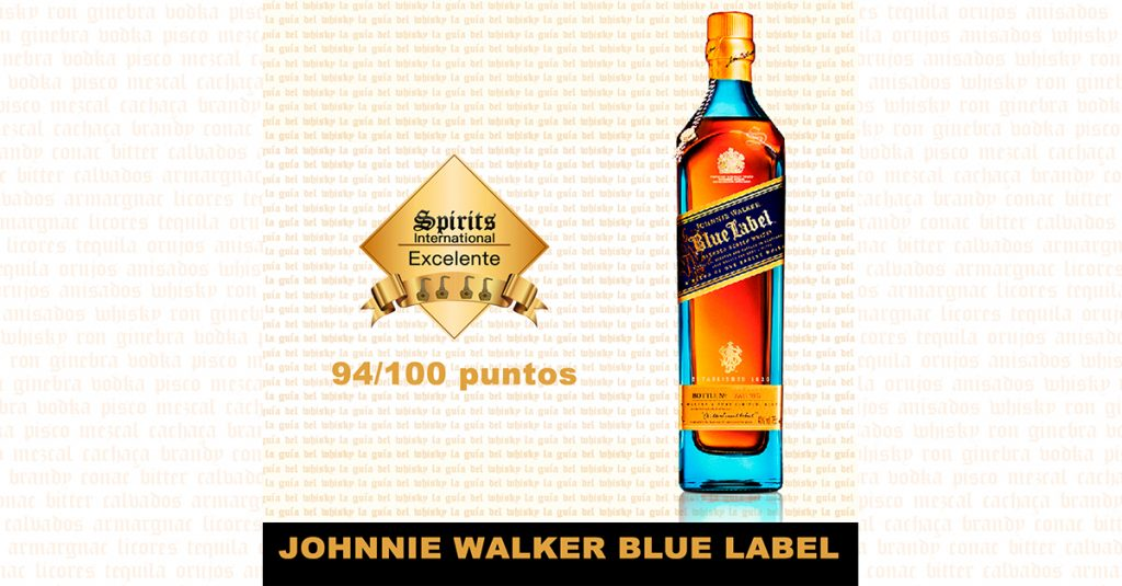 fondo whisky johnnie walker blue label