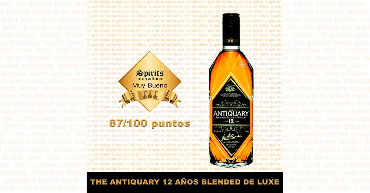 whisky The Antiquary 12 Fondo
