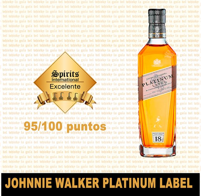 fondo Johnnie Walker platinum label